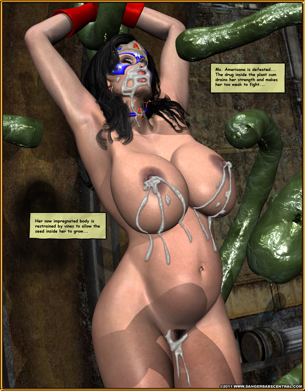 Image 28849 Impregnation Tentacle Bigtits Bulge Comic Cum -5315