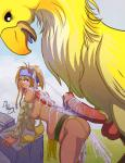BIG_dick Final_Fantasy chocobo cum_all_over cumgushing fucked_silly rikku stomach_bulge willing // 850x1100 // 792.2KB
