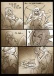 1girl comic monster page_3 sex willing // 800x1107 // 221.1KB