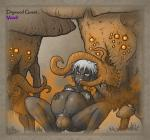 artist_Venel birth bulge dark_elf drow elf mind_control myconid pregnant rape tentacle_rape tentacles // 1113x1041 // 1.7MB