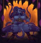 Draenei World_of_Warcraft lovecraftian tentacles willing // 1421x1500 // 1.5MB