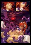 all_the_way_through comic cumcovered double_penetration naked_girl stomach_bulge tentacle_rape // 693x1000 // 793.2KB