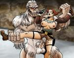 Lara_Croft Tomb_Raider breasts_exposed in_peril monster_rape torn_clothes yeti // 974x779 // 264.1KB