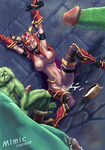 Alexstrasza World_of_Warcraft artist_Mimic cum cum_inside orc rape // 489x700 // 281.3KB