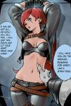League_of_Legends Rengar belly_button bondage captured comic hands_above_head katarina monster rape scratch // 949x1400 // 164.3KB