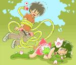 Tentacle blush cute imminent_oral male monster_girl rape stripped suspension young // 700x600 // 81.7KB