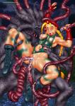 Cammy Tentacle breast_squeeze double_penetration street_fighter tentacle_rape tentaculeo // 827x1167 // 256.3KB