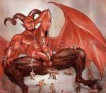 anal cum cum_covered cum_shower demon devil gay male nipple_play pierced size_difference // 1337x1181 // 557.7KB