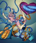 demon_girl double_penetration tentacle_rape xray // 1255x1500 // 626.1KB