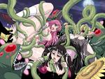 Moka Rosario_Vampire Tentacle anal blush breast_fuck double_anal double_penetration monster panties plant rape ruby sunflowers willing // 800x600 // 108.9KB
