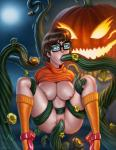 Scooby-doo Velma pumpkin_monster tentacle_rape // 864x1110 // 655.1KB