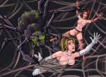 Topless anticipation breasts_exposed in_peril spider_monster super_heroines webbing // 1024x750 // 160.9KB
