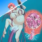 Tentacle Vaginal breast_squeeze censored cum cum_inside internal nude pregnant underwater // 710x710 // 60.4KB
