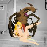 artist_mad_scientist birthing blonde freckles glasses insect lovers naked // 1280x1280 // 277.6KB