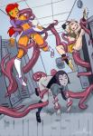 oral panties rape suspended teen_titans Tentacle three_girls // 841x1224 // 402.9KB