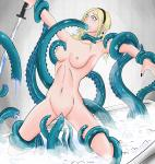 Tentacle Vaginal bath bathtub nude oral rape restrained sword uncensored // 952x1000 // 591.5KB
