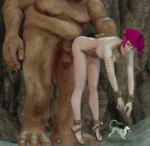 Elf_Girl animated giant monster_rape standing_fuck // 471x460 // 2.5MB