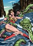 anticipation monster tentacles wonder_woman // 1024x1417 // 476.5KB