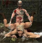 blonde_hair breasts_squished screaming spread_legs vaginal_penetration zombie_rape // 1200x1224 // 450.4KB
