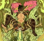 Artist_Squikinky cum monster_girl plants pregnant triple_penetration willing // 1000x938 // 948.7KB
