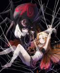 arachne fairy monster_girl spider web // 1000x1211 // 747.9KB