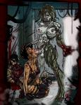 Alexia_Ashford forced_oral futanari monster resident_evil scratch torn_clothes // 772x1000 // 318.2KB