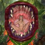 naked_girl plant_monster vore // 1200x1200 // 1.1MB