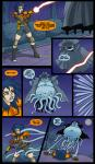Extreme_Ghostbusters Ghost Kylie_Griffin comic impending_rape pinned_down tentacles // 845x1444 // 963.0KB