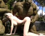 Orcs elf fingering orc // 1000x800 // 197.1KB