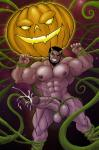 bound cum cumshot demon jack-o-lantern male plant pumpkin restrained sounding urethral_penetration vines // 521x785 // 96.3KB