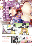 Touhou big_boobs comic cum_covered dicks patchouli_knowledge // 1044x1500 // 645.6KB