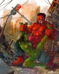 BIG_dick anticipation defeated naked red_hulk restrained she_hulk // 960x1200 // 405.9KB