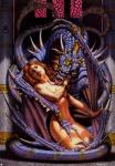 anticipation dragon held_against_her_will naked tongue_licking warrior_female // 999x1433 // 239.9KB