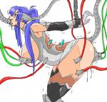 Heroine arms_chained half_naked machine metal_tentacles tentacle_rape wires // 606x584 // 259.7KB