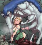 Dragon_Quest bianca blonde_hair bondage chains cum green_eyes horse large_penis monster rape restrained shackled shackles tears tongue_out torn_clothes // 763x800 // 82.8KB