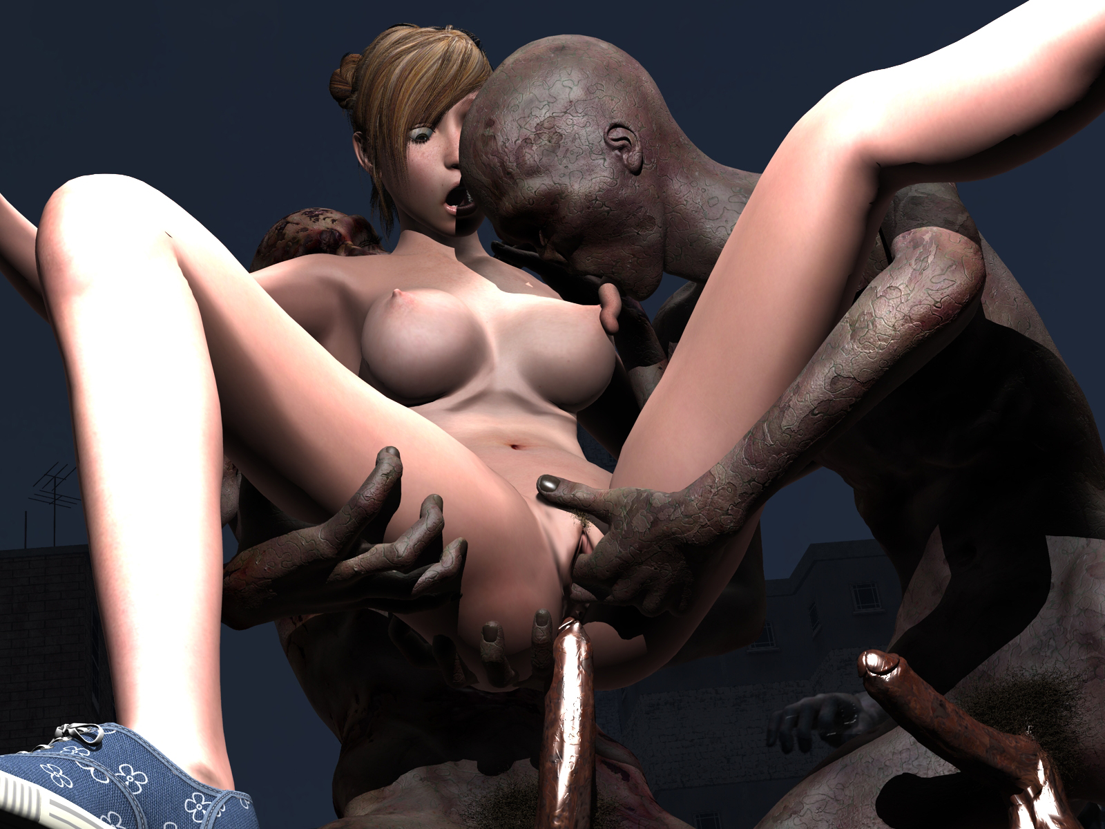 Uncensored 3d hentai monsters nude videos