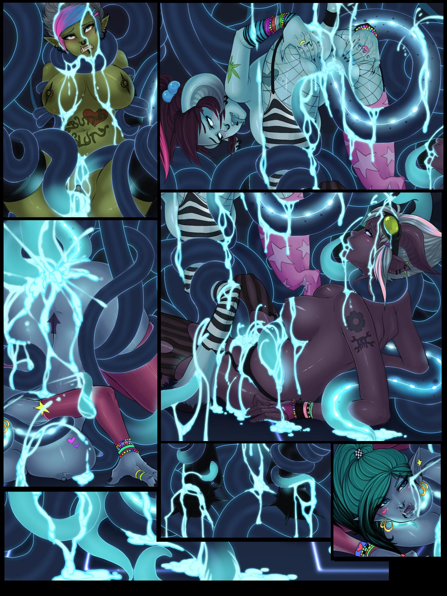 World of warcraft tentacle rape smut comics