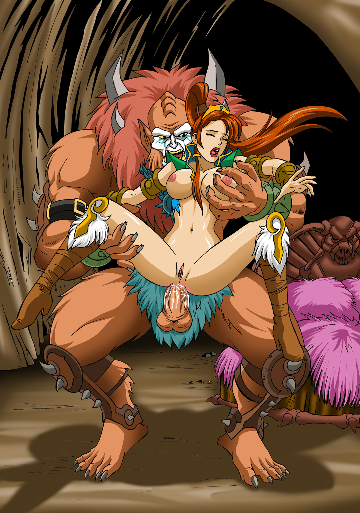 Monster sex cartoon hard sexual photo