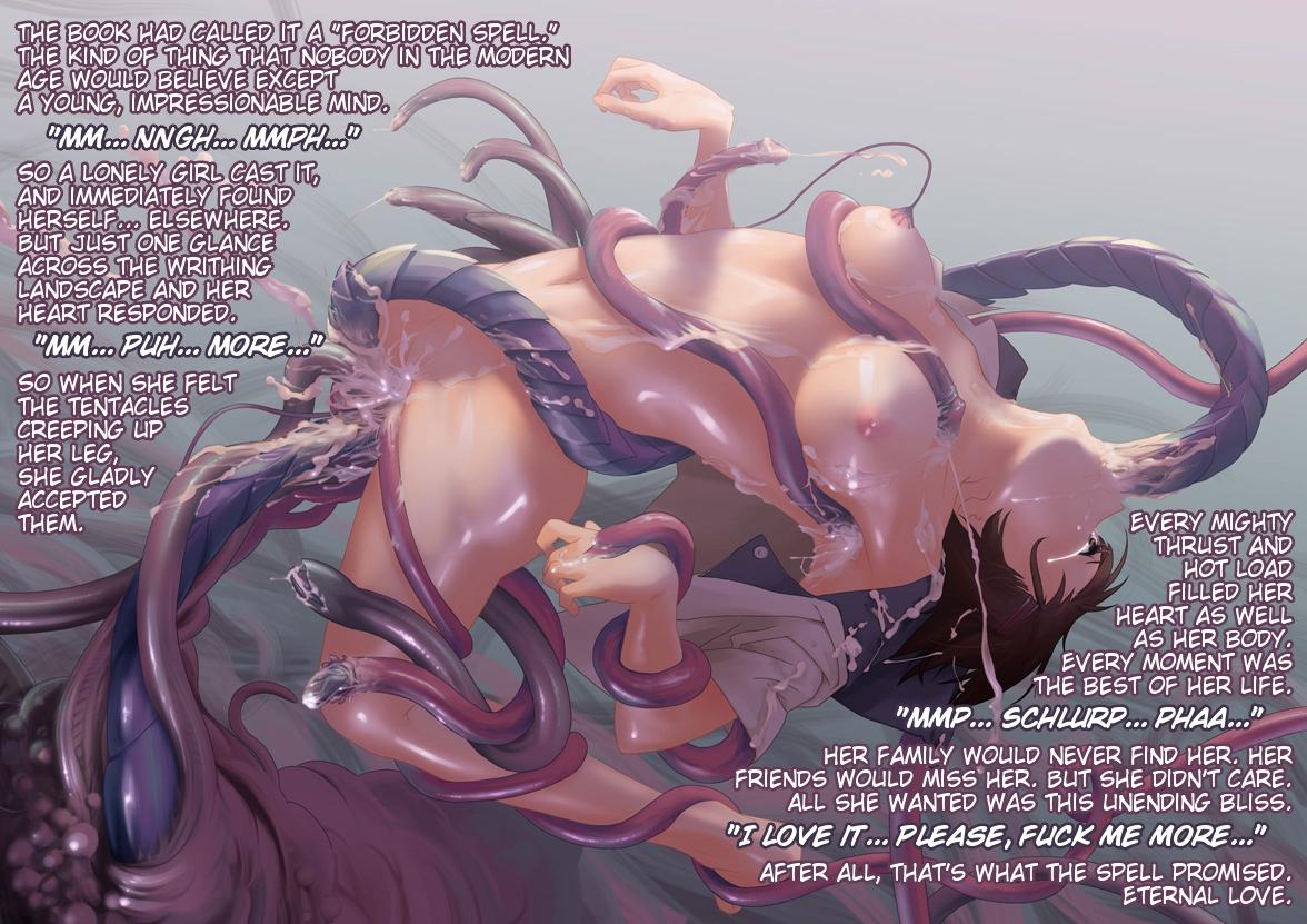 tentacle cum