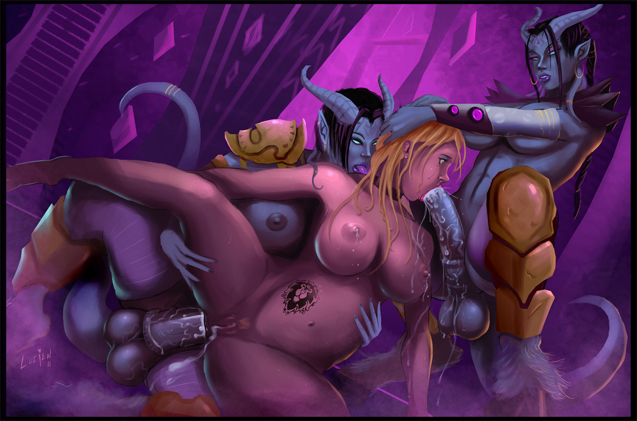 Draenei and orc porn french pornos image