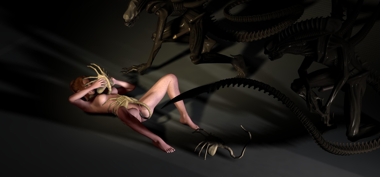 Alien facehugger porn