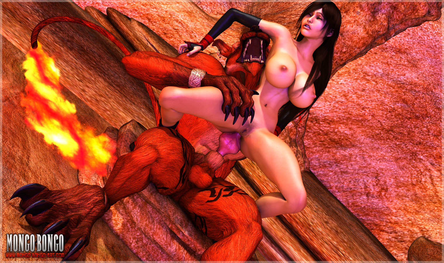 Devil girl fucked real think