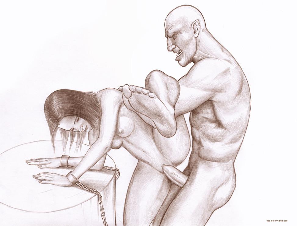 Krankenschwester Scheide Pantyhose Massage