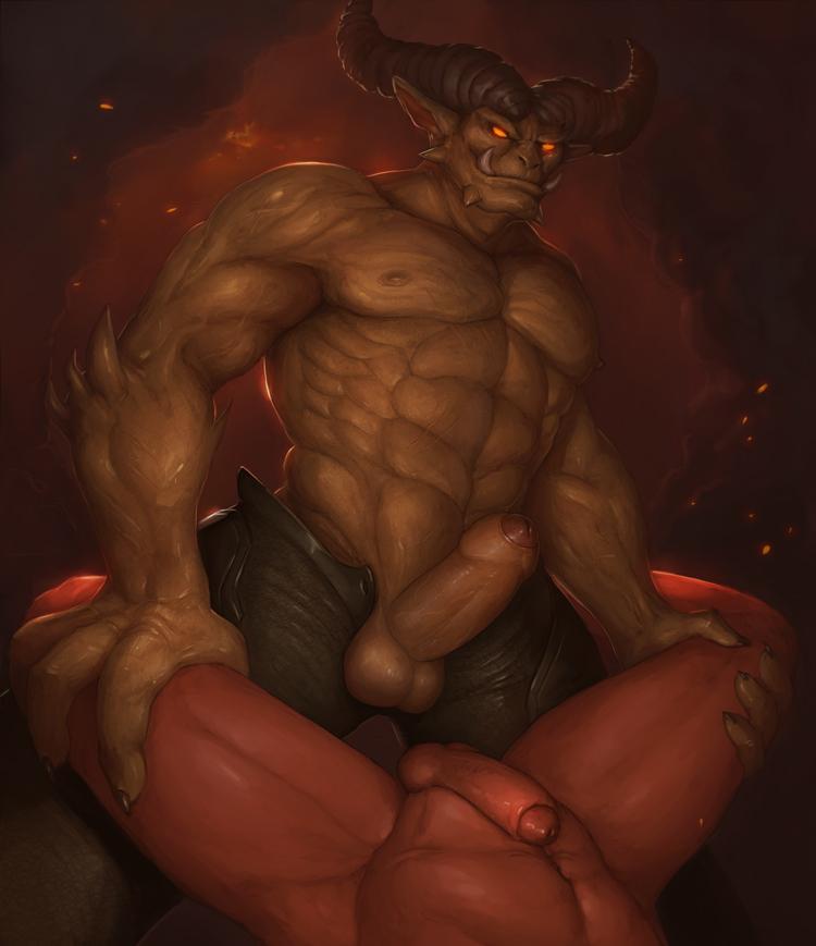 Гей Порно Демон