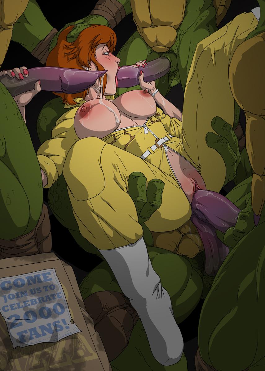 Porn april